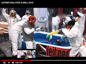 Leitner macht mir bei Pool&Grill Challenge